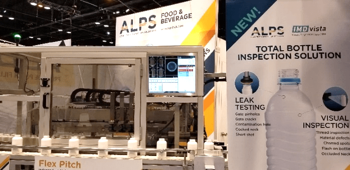 Game Changer at the Pack Expo 2018 – Total Bottle Inspection Solution
